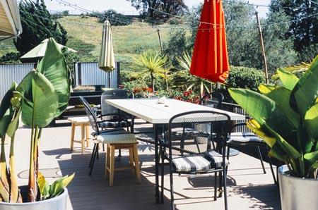 terrazzo tavolo giardino