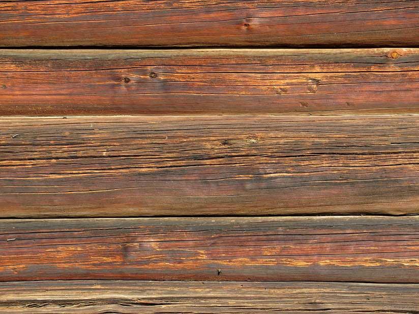 legno rovinato