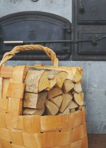 legna accantonata
