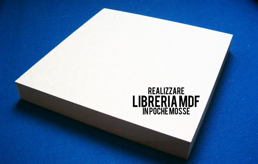 mdf libreria