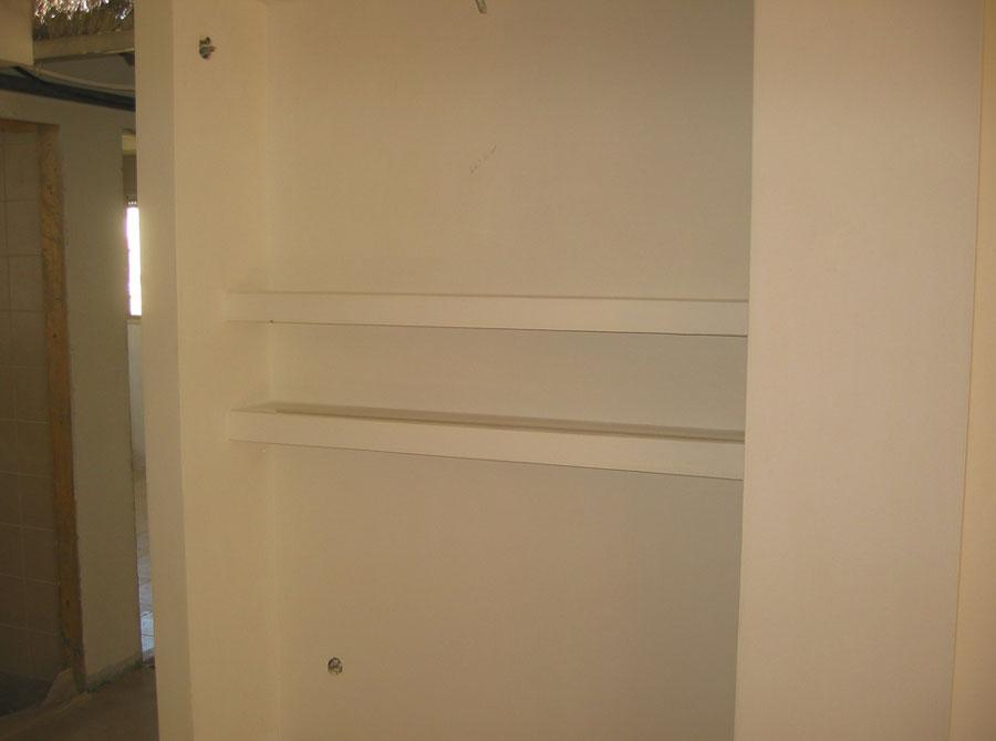 Come costruire una fantastica nicchia in cartongesso costok for Nicchie nelle pareti