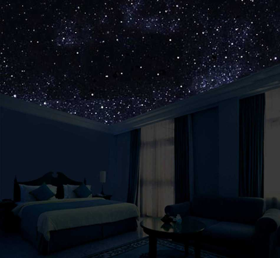 cielo stellato in camera