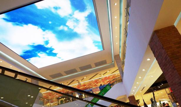 soffitto moderno con velette cartongesso