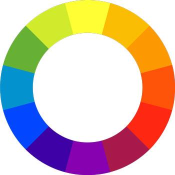 cerchio abbinamento colori