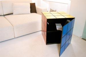 cubo rubik mobile contenitore