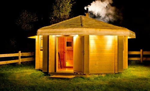 sauna-esterna