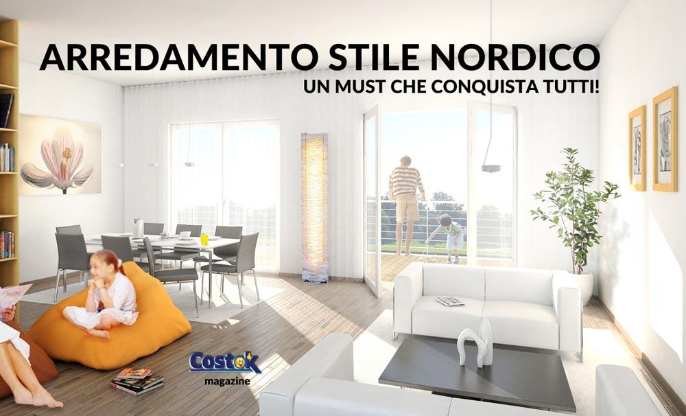 Riprodurre in casa l 39 arredamento stile nordico costok for Arredamento nordico