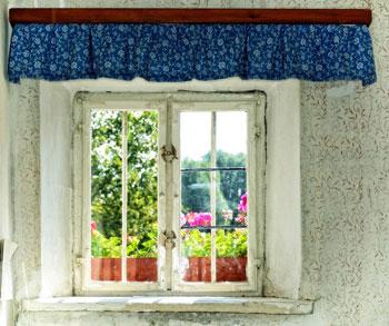 Scegliere le tende country per la propria casa - CostOk