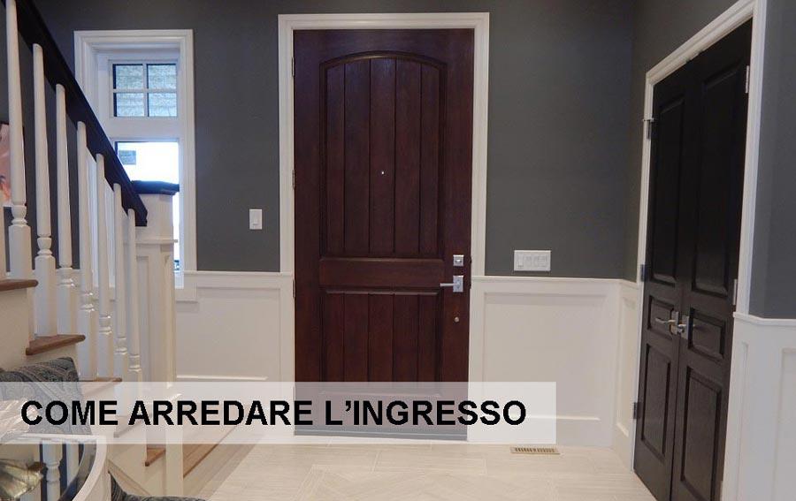 Consigli pratici su come arredare l 39 ingresso costok for Ingresso casa moderno