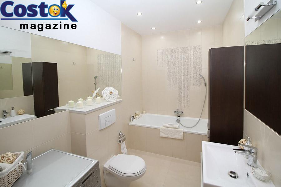 Idee per arredare bagno stretto e lungo costok - Arredare il bagno piccolo ...