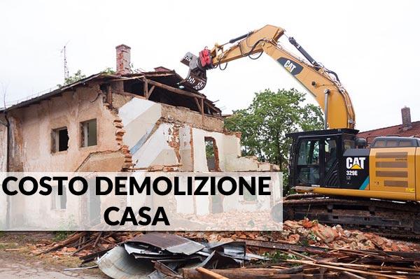Quanto Costa Demolire Una Casa Costok
