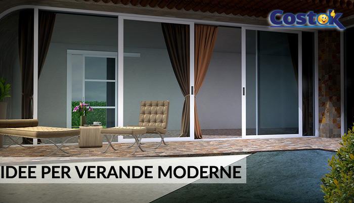 Il segreto del vetro verande moderne for Ville moderne con vetrate