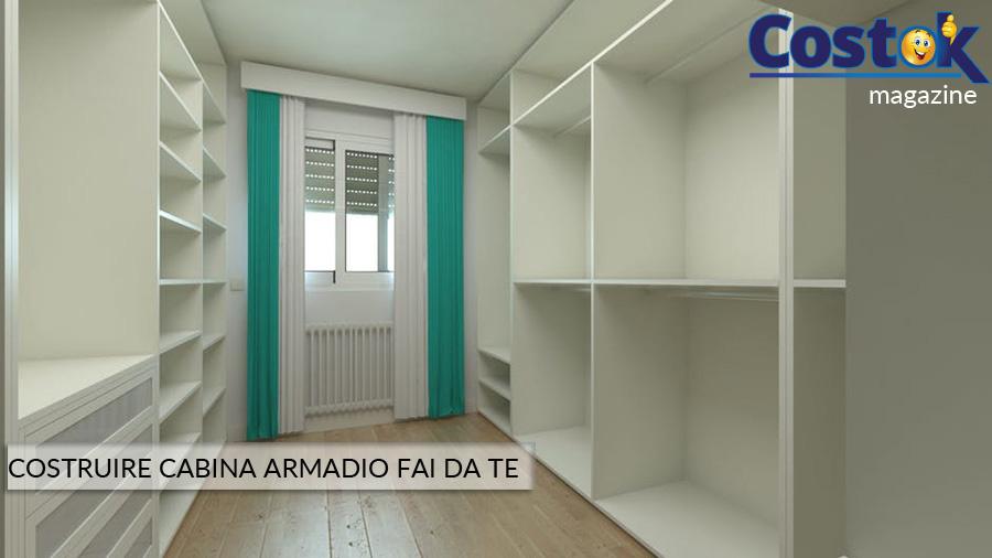 Cabina Armadio Tenda : Costruire cabina armadio fai da te u2013 costok.it