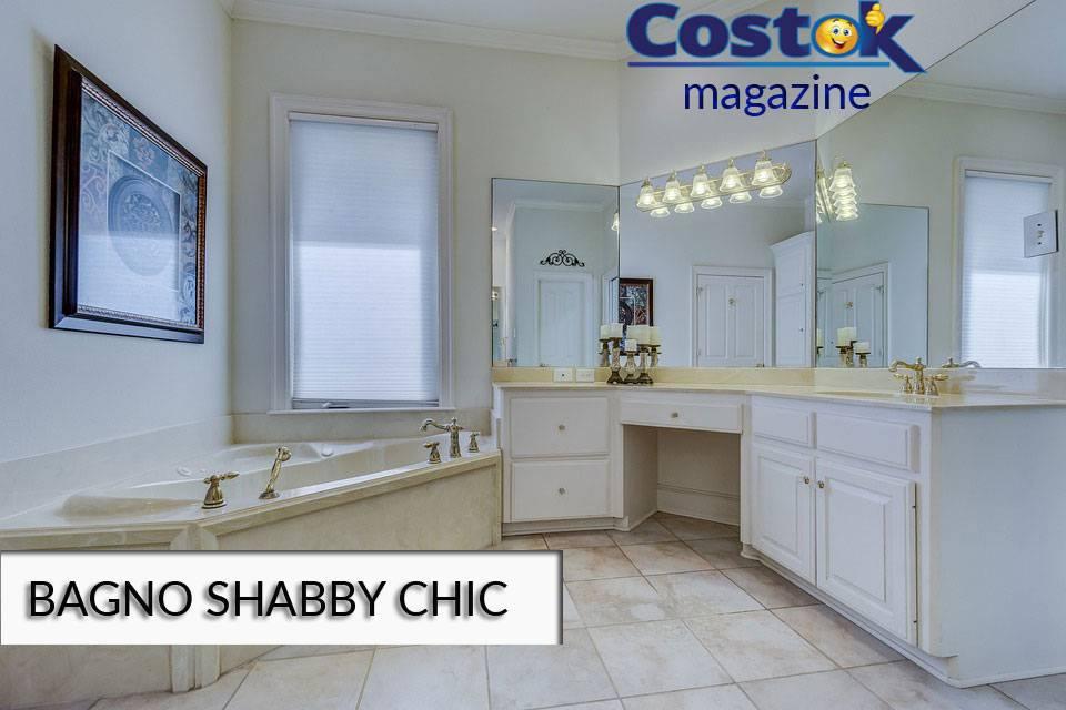 Come arredare un bagno in stile shabby costok