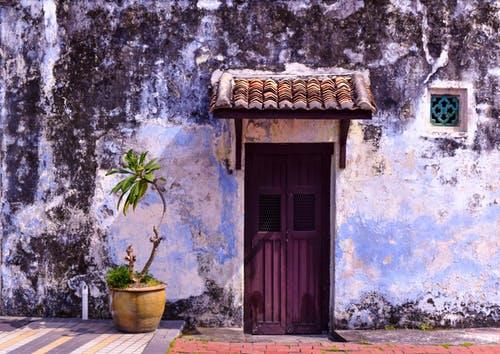 facciata abitazione vecchia